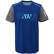 Majestic Youth Kansas City Royals Cool Base Club Series Royal Performance T-Shirt