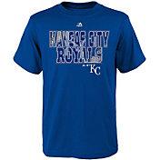 Majestic Youth Kansas City Royals Spark Royal T-Shirt