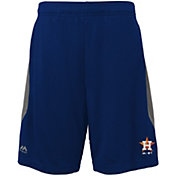 Majestic Youth Houston Astros Cool Base Rally Navy Performance Shorts