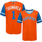 "Majestic Youth Houston Astros Carlos Correa ""Showrrea"" MLB Players Weekend Jersey Top"