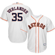 Youth Replica Houston Astros Justin Verlander #35 Home White Jersey