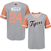 "Majestic Youth Detroit Tigers Miguel Cabrera ""Miggy"" MLB Players Weekend Jersey Top"
