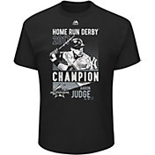 Majestic Youth Aaron Judge 2017 Home Run Derby Champion Black T-Shirt