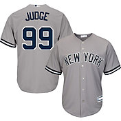Youth Replica New York Yankees Aaron Judge #99 Road Grey Jersey