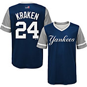 "Majestic Youth New York Yankees Gary Sanchez ""Kraken"" MLB Players Weekend Jersey Top"