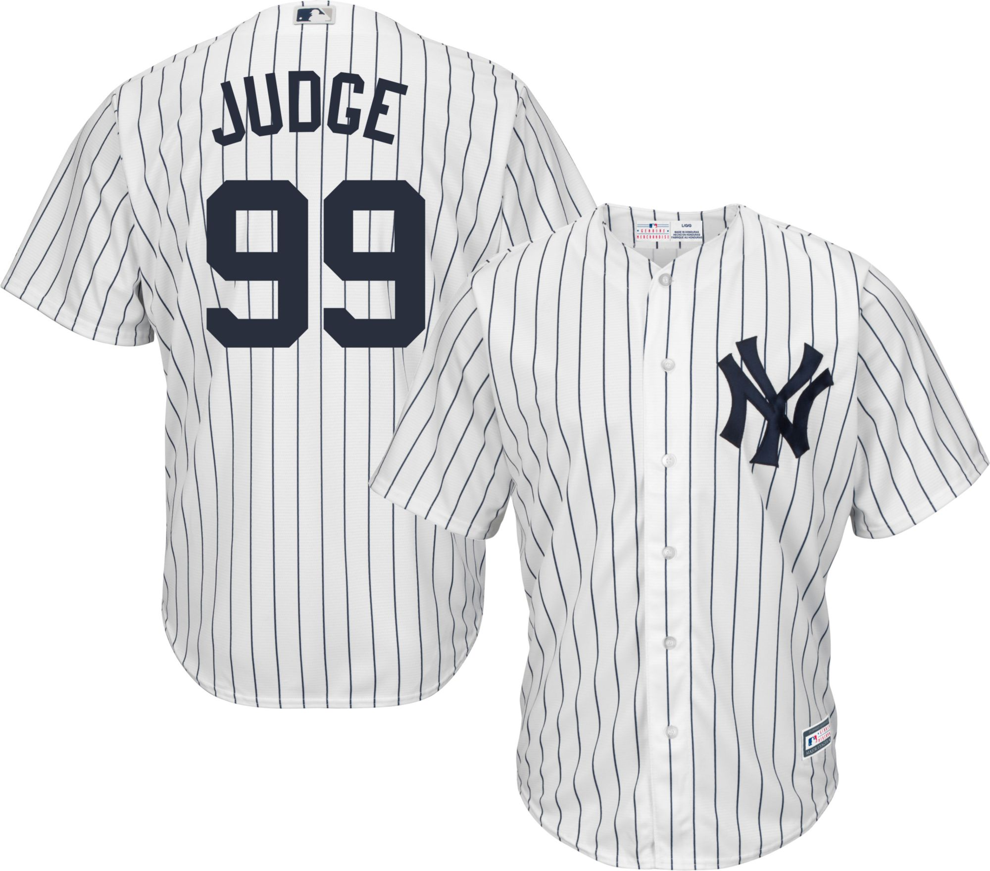 Product Image � Youth Replica New York Yankees Aaron Judge #99 Home White  Jersey