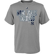 Majestic Youth New York Yankees Spark Grey T-Shirt