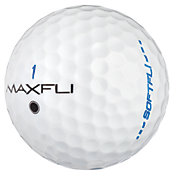 Maxfli SoftFli Gloss Golf Balls – White