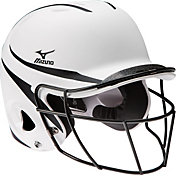 Mizuno Youth Prospect Batting Helmet w/ Fastpitch Mask