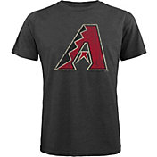 Majestic Threads Men's Arizona Diamondbacks Grey T-Shirt