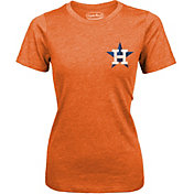 Majestic Threads Women's Houston Astros Orange T-Shirt
