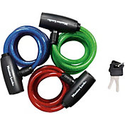 Master Lock 6ft. x 8mm Keyed Cable Bike Lock – 3 Pack
