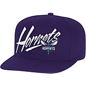 Mitchell & Ness Men's Charlotte Hornets Adjustable Snapback Hat