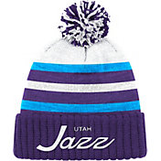 Mitchell & Ness Men's Utah Jazz Cuffed Knit Hat