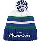 Mitchell & Ness Men's Dallas Mavericks Cuffed Knit Hat