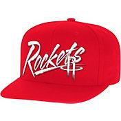 Mitchell & Ness Men's Houston Rockets Adjustable Snapback Hat