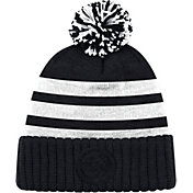 Mitchell & Ness Men's Philadelphia 76ers Tonal Black Cuffed Knit Hat