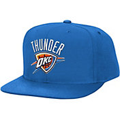 Mitchell & Ness Men's Oklahoma City Thunder Wool Blue Adjustable Snapback Hat