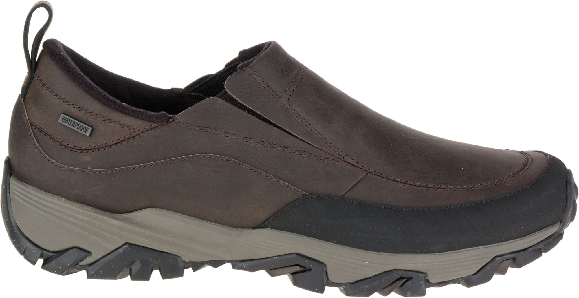 Merrell Coldpack Ice+ Moc Waterproof (Black) Mens Shoes Shopping Online High Quality Discount Authentic Online Free Shipping Hot Sale Prices Online Outlet Get Authentic M4V4RPQRC