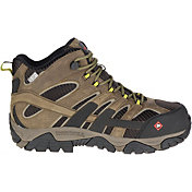 Merrell Men's Moab 2 Vent Mid Waterproof Composite Toe Work Boots