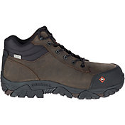 Merrell Men's Moab Rover Mid Waterproof Composite Toe Work Boots