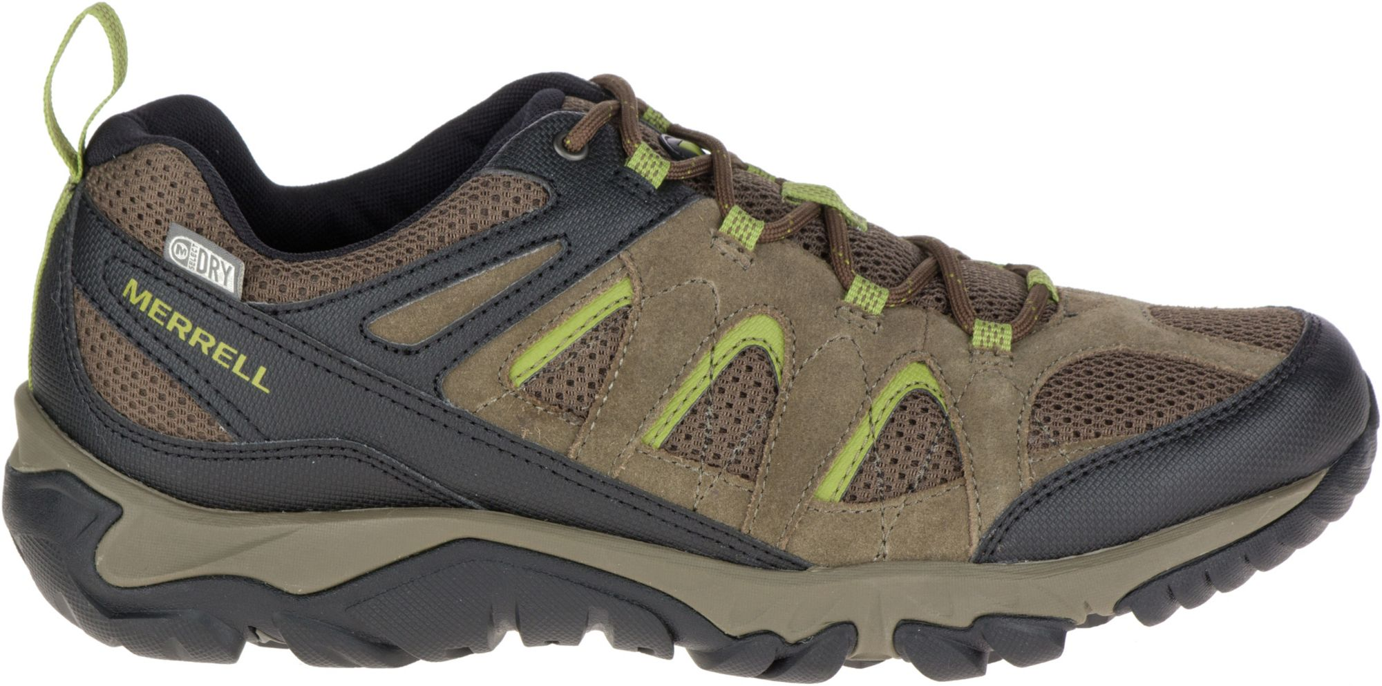 Merrell Outmost Vent Waterproof (Boulder) Mens Shoes
