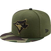 New Era Men's Toronto Blue Jays 59Fifty 2017 Memorial Day Camo Authentic Hat