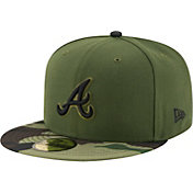 New Era Men's Atlanta Braves 59Fifty 2017 Memorial Day Camo Authentic Hat