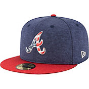 New Era Men's Atlanta Braves 59Fifty 2017 July 4th Authentic Hat