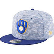New Era Men's Milwaukee Brewers 9Fifty Terry Fresh Adjustable Hat
