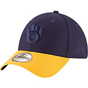 New Era Men's Milwaukee Brewers 39Thirty Tone Tech Stretch Fit Hat