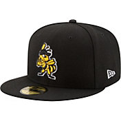 New Era Men's Salt Lake Bees 59Fifty Black Authentic Hat