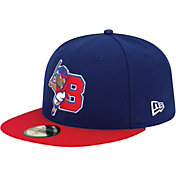New Era Men's Buffalo Bisons 59Fifty Royal/Red Authentic Hat