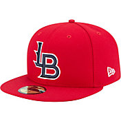New Era Men's Louisville Bats 59Fifty Red Authentic Hat
