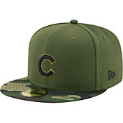 New Era Men's Chicago Cubs 59Fifty 2017 Memorial Day Camo Authentic Hat
