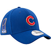New Era Men's Chicago Cubs World Series Champs 39Thirty Royal/Gold Flex Hat