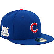 New Era Men's Chicago Cubs 59Fifty 2017 MLB Postseason Royal Authentic Hat