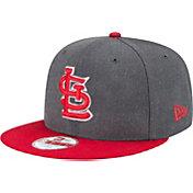 New Era Men's St. Louis Cardinals 9Fifty Grey Adjustable Hat