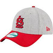 New Era Men's St. Louis Cardinals 9Forty Grey Adjustable Hat