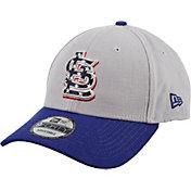 New Era Men's St. Louis Cardinals Americana 9Forty Grey Adjustable Hat