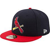 New Era Men's St. Louis Cardinals 59Fifty Alternate 2 Navy Authentic Hat