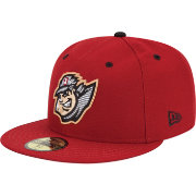 New Era Men's Altoona Curve 59Fifty Red Authentic Hat