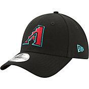 New Era Men's Arizona Diamondbacks 9Forty Black Adjustable Hat