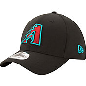 New Era Men's Arizona Diamondbacks 39Thirty Black Stretch Fit Hat