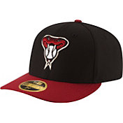 New Era Men's Arizona Diamondbacks 59Fifty Alternate Black/Red Low Crown Authentic Hat