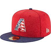 New Era Men's Arizona Diamondbacks 59Fifty 2017 July 4th Authentic Hat