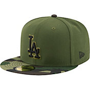 New Era Men's Los Angeles Dodgers 59Fifty 2017 Memorial Day Camo Authentic Hat