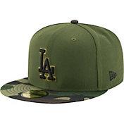 New Era Men's Los Angeles Dodgers 59Fifty 2017 Memorial Day Camo Authentic Hat
