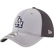 New Era Men's Los Angeles Dodgers 39Thirty Grayed Out Grey Flex Hat