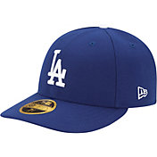 New Era Men's Los Angeles Dodgers 59Fifty Game Royal Low Crown Authentic Hat